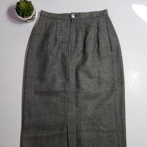 Vintage Nieman Marcus Wool Skirt